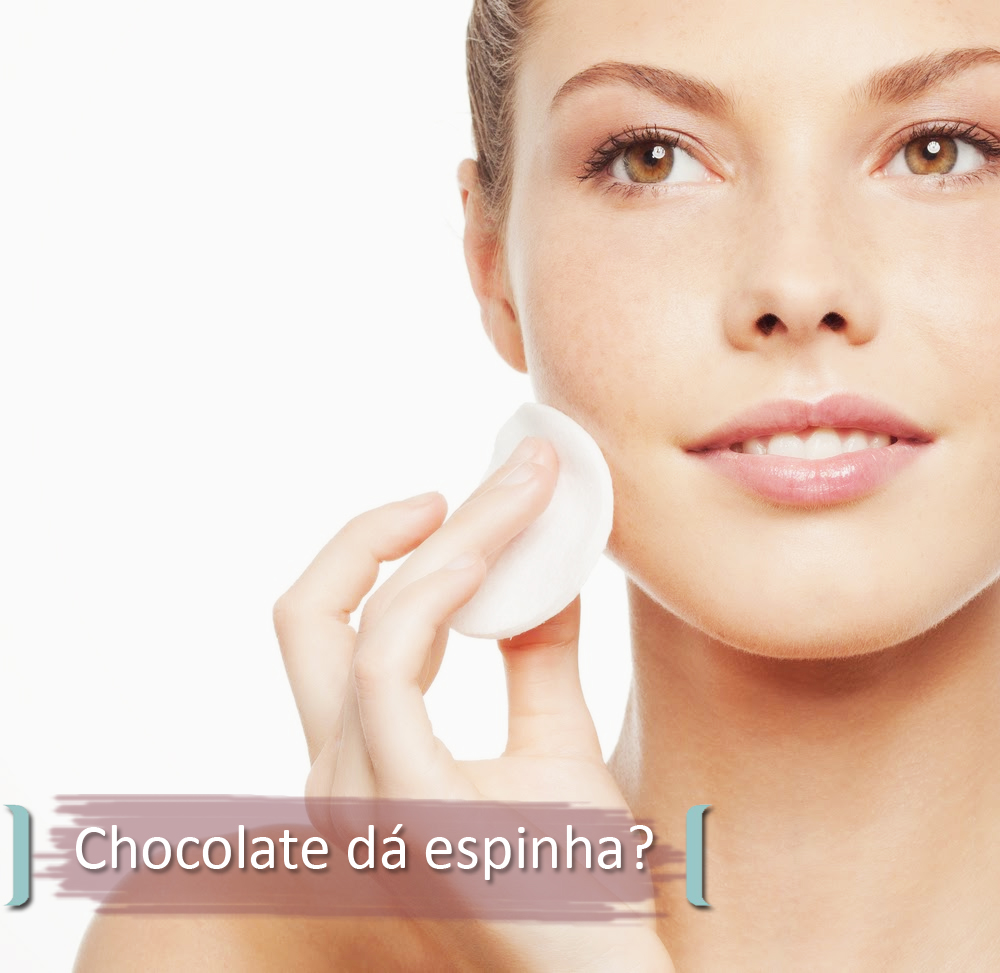 O Chocolate e as Espinhas